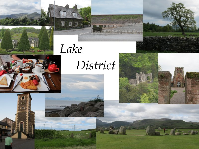 Collage Lake District